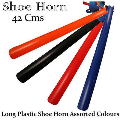 Extra Lunga Plastica Calzascarpe Remover Disabilità Mobilità Aiuti Flessibile Stick 42cm-mostra Il Titolo Originale