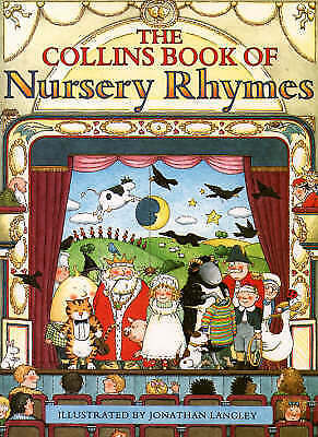 """""""VERY GOOD"""" The Collins Book of Nursery Rhymes, , Book"""