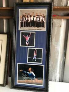 Carly-Patterson-TJ-Maxx-2004-Tour-of-Gymnastics-Champions-Framed-Collage-Signed