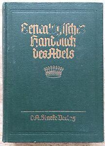 FleißIg Genealogisches Handbuch Des Adels GrÄfliche HÄuser, A, Band Iv, 1962 Band 28