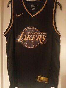 Kobe Bryant #24 LA Lakers Basketball Jersey Shirt Gold//Black//Purple S XXL