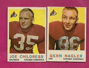 1959-TOPPS-CARDINALS-GERN-NAGLER-JOE-CHILDRESS-NRMT-CARD-INV-A5348