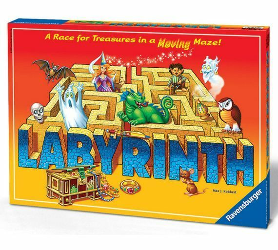 NEW IN BOX Ravensburger - The Amazing Labyrinth Family Board Game