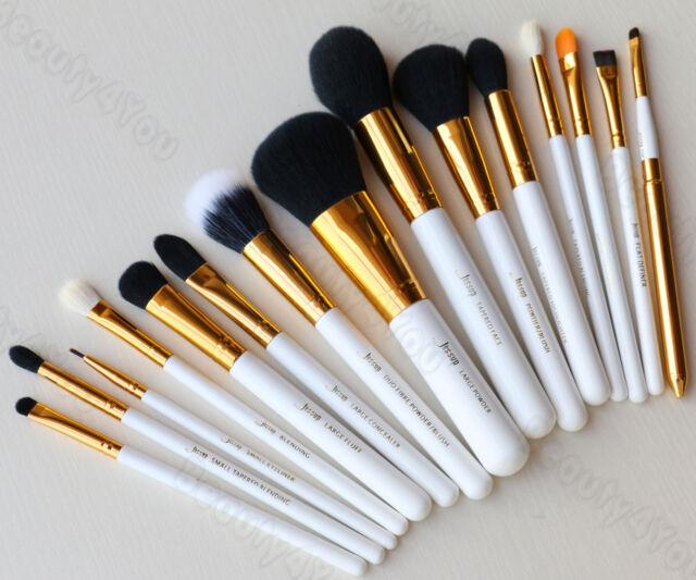 15pcs Pro Makeup Brushes Set Powder Foundation Eyeshadow Eyeliner Lip Brush kits