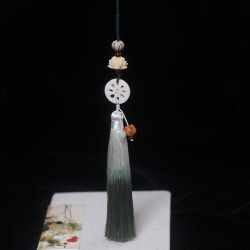Grandmaster of Demonic Cultivation Wei Wuxian Lotus Single Tassel Waist Pendant