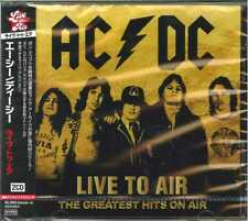 Ac/dc-liive to Air - The Greatest Hits on Air-import 2 CD F83 With OBI