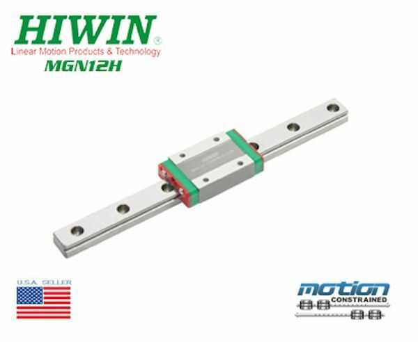 New Hiwin MGN12H Linear Guides  MGN Series Linear Bearings / 45mm to 1995mm Long