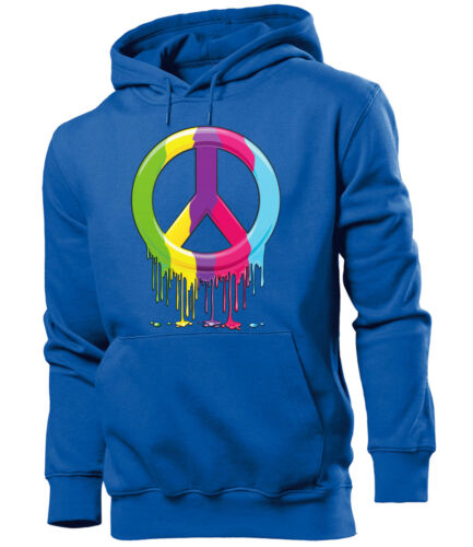 Peace Herren Hoodie Gr.S bis XXL Golebros Reggae Cannabis Marijuana Pullover