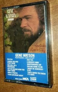 GENE-WATSON-Heartaches-Love-amp-Stuff-Cassette-1984-MCA-records-MCAC-5520