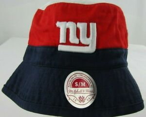 d0a57e4a710 New York Giants NFL Mitchell   Ness Multi Team Color Bucket Hat Size ...