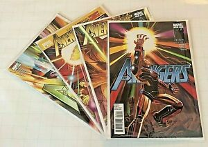 Avengers-9-12-2011-Iron-Man-Wields-Infinity-Gauntlet-COMPLETE-STORY-Endgame