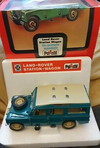 Vintage-Polistil-S49-1-25-Land-Rover-Station-Wagon-1977-boxed-with-polystyrene
