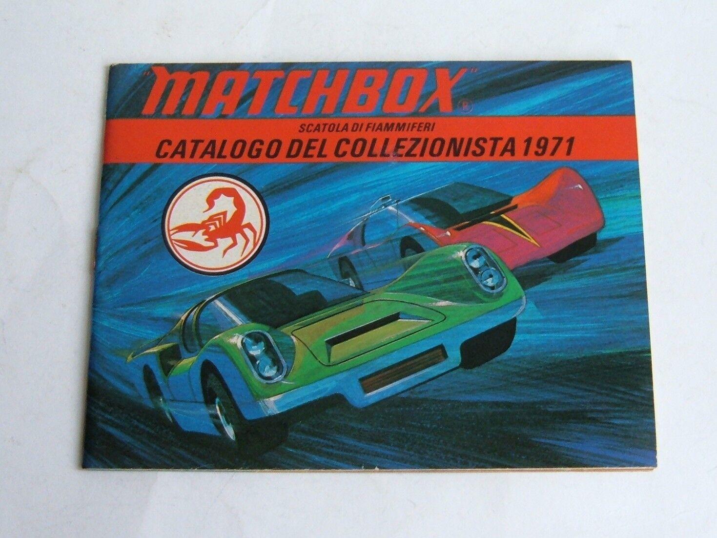 Very Rare Italian Matchbox Toys Catalogue, Dated 1971, - Superb Mint.