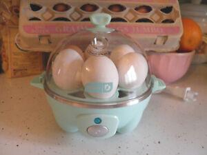 DASH-Rapid-Egg-Cooker-6-Egg-Capacity-Eggshell-Green-New