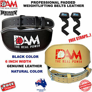 DAM-WEIGHT-LIFTING-BELT-WEIGHTLIFTING-BODYBUILDING-GYM-BACK-SUPPORT-LEATHER-BELT