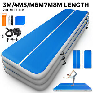 Inflatable-Gym-Yoga-Mat-Air-Tumbling-Track-Floor-Mat-GYM-Gymnastics-Airtrack-CA