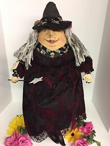 Joe Spencer Gathered Traditions Minerva Witch (with star wand) FGS69153