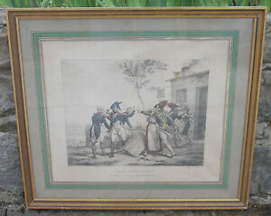 Lithography-19th-Delpech-by-Vernet-Soldier-Jacques-Grivet
