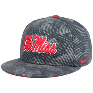 best sneakers 0f07a db47a Image is loading Nike-True-Mississippi-Ole-Miss-Rebels-Anthracite-Dot-