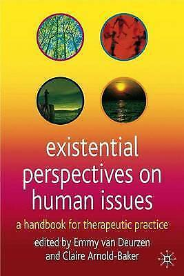 1 of 1 - EXISTENTIAL PERSPECTIVES ON HUMAN ISSUES - EMMY VAN DEURZEN - HB - NEW