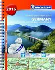 Germany, Benelux, Austria, Switzerland, Czech Republic- Michelin Tourist and Motoring Atlas: 2016 by Michelin Editions des Voyages (Spiral bound, 2016)
