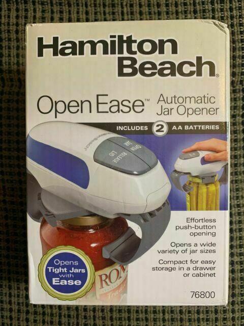 Hamilton Beach 76800 Open Ease Automatic Jar Opener