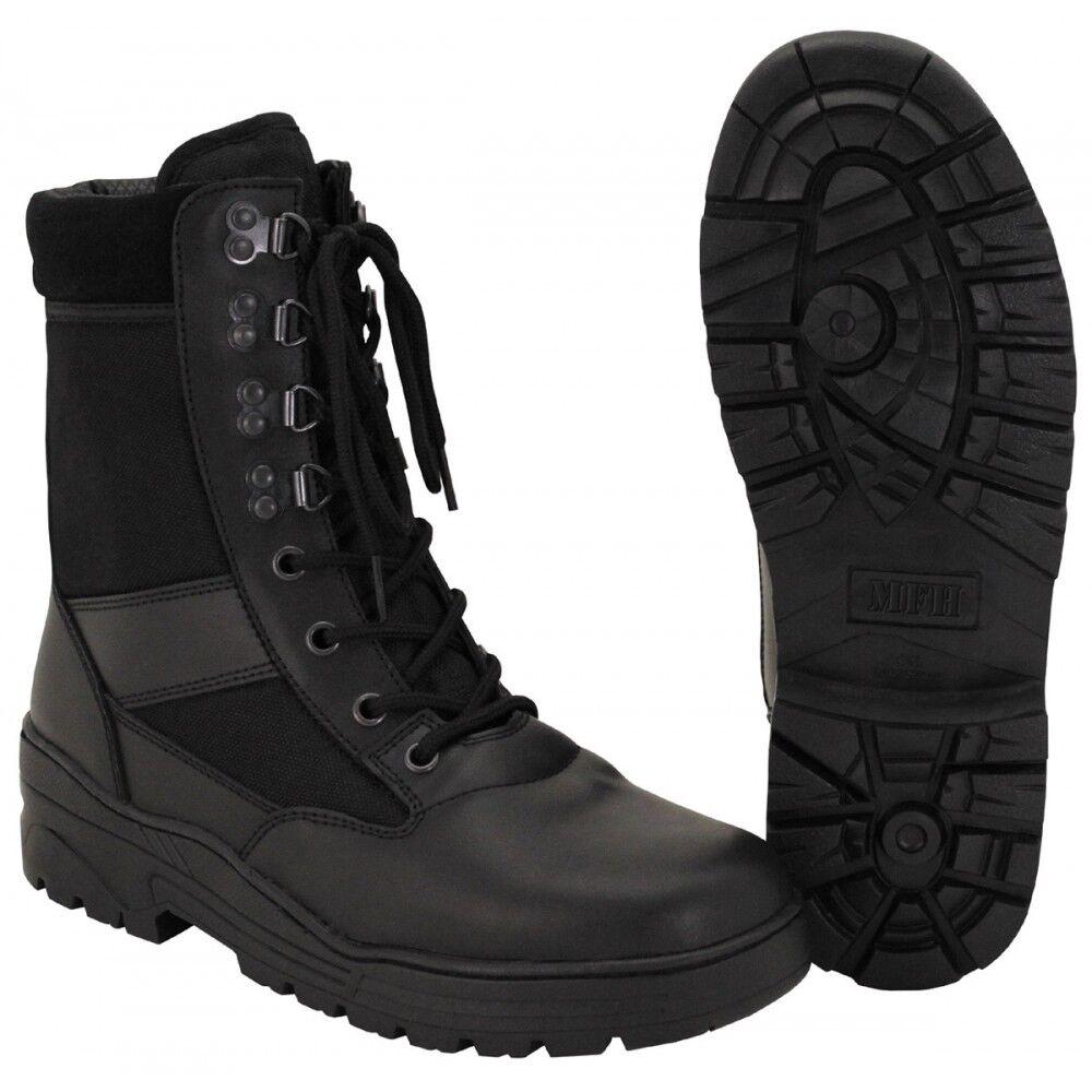 MFH Stiefel Security schwarz Schuhe Stiefel Arbeitstiefel Einsatzstiefel