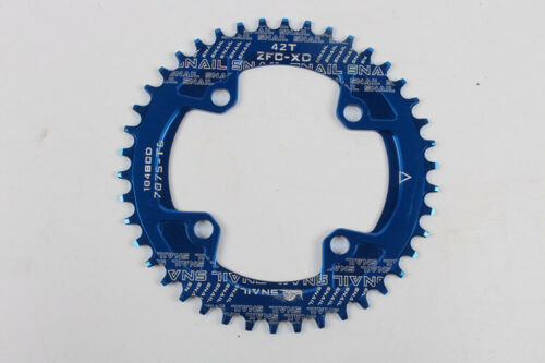 Premium 104BCD Bicycle Chairwheel 38//40//42T Mountain Road Bike Round Chainrings