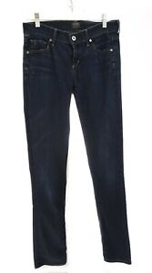 Citizens-Of-Humanity-COH-Ava-Straight-Leg-Jeans-Low-Rise-Stretch-Blue-Sz-26