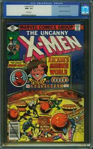 X-Men-123-US-Marvel-1979-Spider-Man-Byrne-CGC-9-6-Presque-comme-neuf-2nd-Highest
