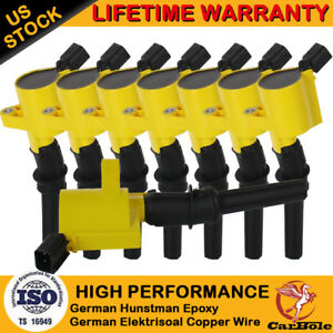 Details About Ignition Coil Pack For Ford F150 Expedition 2000 2001 2002 2004 4 6l 5 4l Triton
