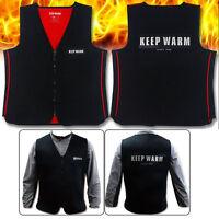 Keep Warm Neoprene Heated Vest No Battery Heated Vest Motorcycle Heated Vest