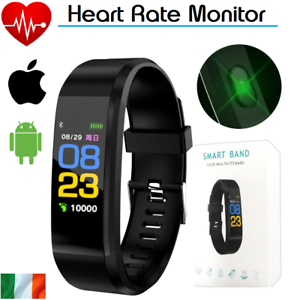 Smart-Watch-Bracelet-Wristband-Fitness-Heart-Rate-BP-Monitor-iPhone-Android