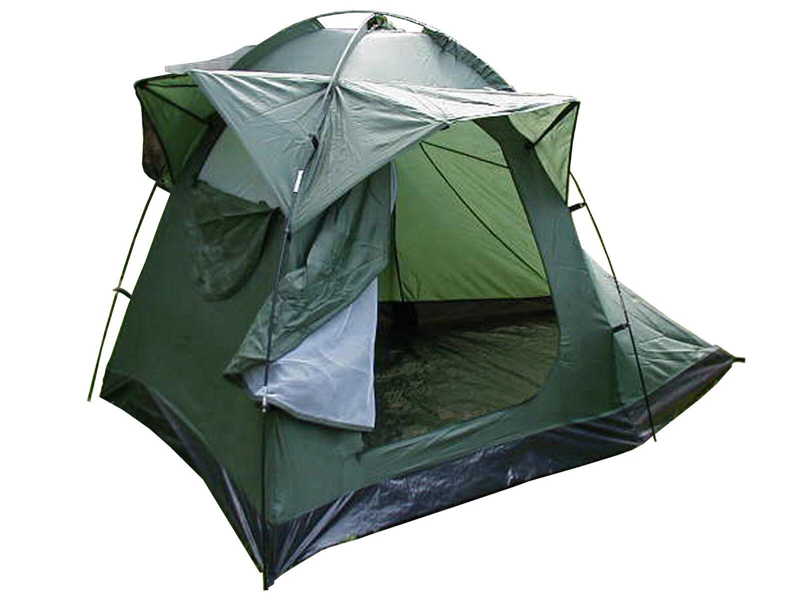 Olive Fisherman Camping Festival Outdoor 2 Men Nylon Tent
