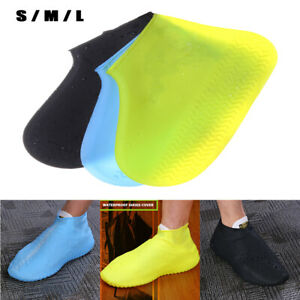 1 Pair Cycling Hiking Silicone Waterproof Anti-slip Shoes Boots Covers Newly