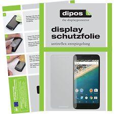 2x LG Google Nexus 5X Schutzfolie Display Folie für das Nexus 5 X matt dipos