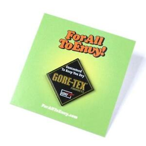 "ForAllToEnvy ""Guaranted To Keep You Dry"" Lapel Pin Rap Hip Hop Gore-Tex"