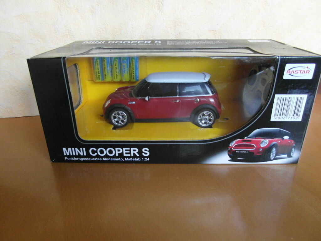 Mini Cooper S funkfergesteuertes Model Car 1 24 Rastar