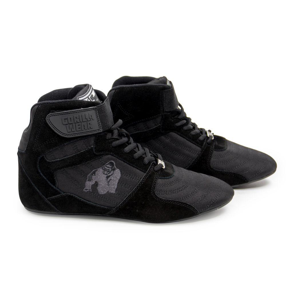 Gorilla Wear Perry High Tops Pro Black//Black Bodybuilding und Fitness Schuhe