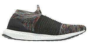 Adidas Ultra Boost Laceless Hommes Running Baskets RRP £ 160.00 B37687