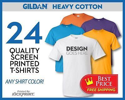 Screen Printed T Shirt Bulk