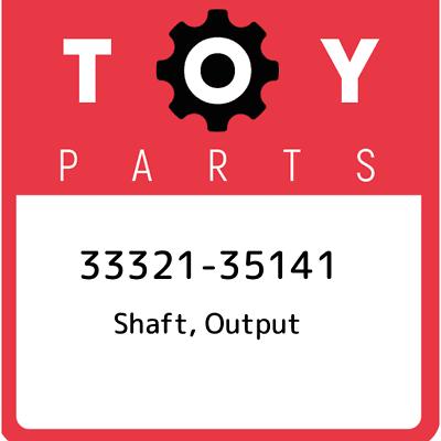 Toyota 33321-35141 Output Shaft