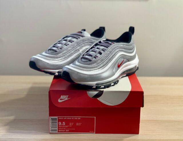 Ejemplo lealtad Agricultura  Size 9.5 - Nike Air Max 97 OG QS 2017 Silver Bullet for sale online | eBay