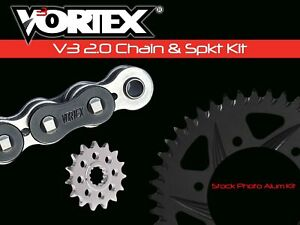 435K-46 Vortex 46-Tooth 520-Pitch Hardcoat Rear Sprocket Vortex Racing