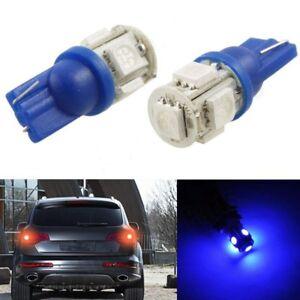 x2-Bombillas-LED-T10-5SMD-5050-5W5-DC12V-varios-colores-posicion-matricula