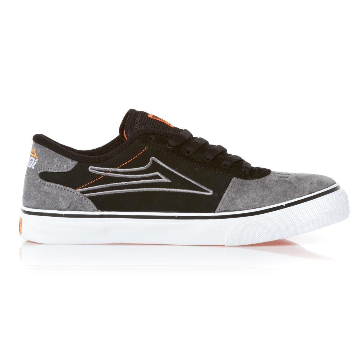 Lakai manchester seleziona nero grigio scamosciato skate) (131), scarpe da uomo
