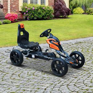 Outdoor-Toy-Gift-w-Hand-Brake-Pedal-Go-Kart-Ride-on-Kids-Car-Racer-Bike