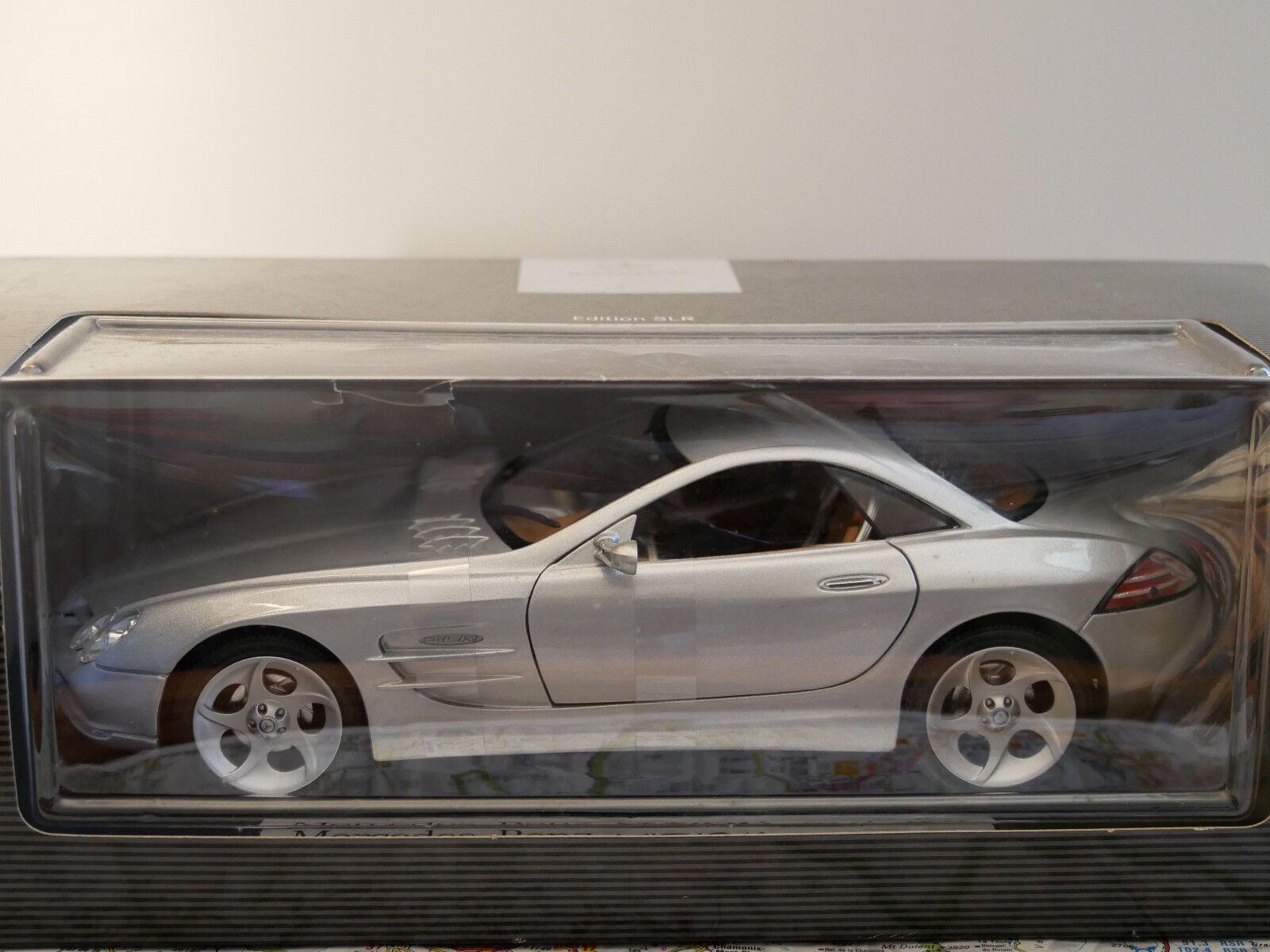 Mercedes-Benz VISION SLR gris  DEALER-VERSION NEW DIE-CAST 1 18