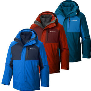 "$260 New Mens Columbia ""Rural Mountain II"" Omni-Heat ..."