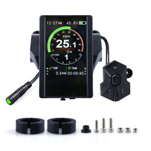 BAFANG-850C-Color-Display-For-Electric-Bicycle-Mid-Drive-Motor-BBS01-BBS02-BBSHD